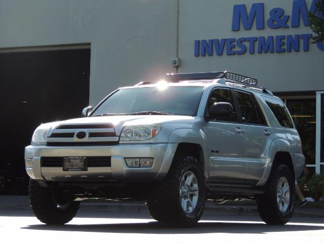 """2004 Toyota 4Runner SR5 6Cyl 4WD 2-Owner Third Row Seats LIFTED 33 """"Mud - Photo 1 - Portland, OR 97217"""