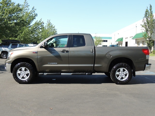 2009 toyota tundra double cab 4x4 5 7 l leather 1 owner. Black Bedroom Furniture Sets. Home Design Ideas