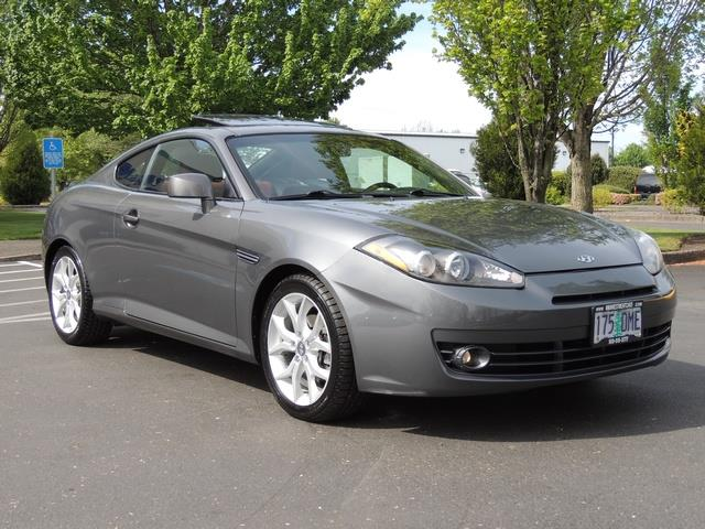 2007 hyundai tiburon gt 6spd manual leather 74kmiles v6. Black Bedroom Furniture Sets. Home Design Ideas