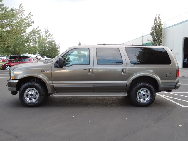 2003 ford excursion limited 4x4 7 3l diesel 3rd seat exel cond. Black Bedroom Furniture Sets. Home Design Ideas