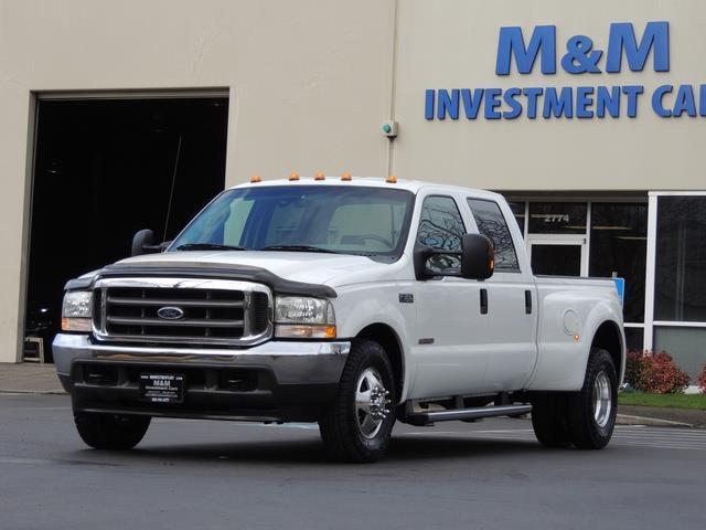 2004 ford f 350 super duty xlt diesel crew cab dually 69 000miles. Black Bedroom Furniture Sets. Home Design Ideas