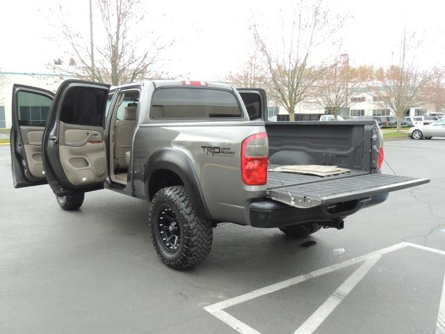 2005 toyota tundra double cab limited 4x4 trd off road lifted. Black Bedroom Furniture Sets. Home Design Ideas