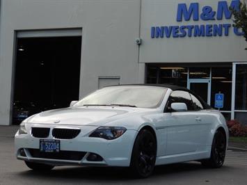 2005 BMW 645Ci / Convertible / Leather / Navigation Convertible