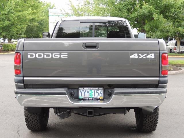 2002 Dodge Ram 2500 SLT 4dr Quad Cab / 4X4 / 5.9L DIESEL / 6-SPEED - Photo 6 - Portland, OR 97217
