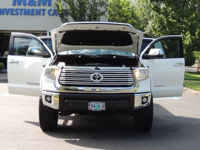 2015 Toyota Tundra Limited / TRD OFF RD / Leather / Navigation / LIFT - Photo 32 - Portland, OR 97217