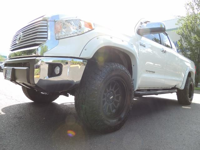 2015 Toyota Tundra Limited / TRD OFF RD / Leather / Navigation / LIFT - Photo 9 - Portland, OR 97217
