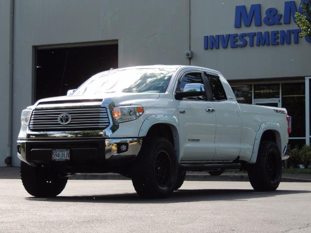 2015 Toyota Tundra Limited / TRD OFF RD / Leather / Navigation / LIFT - Photo 39 - Portland, OR 97217