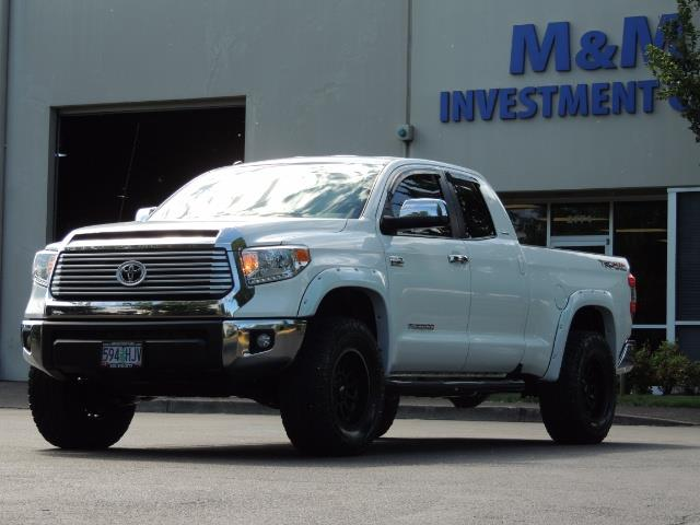 2015 Toyota Tundra Limited / TRD OFF RD / Leather / Navigation / LIFT - Photo 45 - Portland, OR 97217