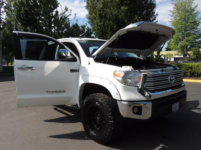 2015 Toyota Tundra Limited / TRD OFF RD / Leather / Navigation / LIFT - Photo 31 - Portland, OR 97217