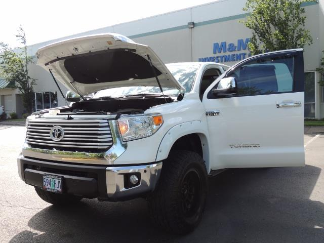 2015 Toyota Tundra Limited / TRD OFF RD / Leather / Navigation / LIFT - Photo 25 - Portland, OR 97217