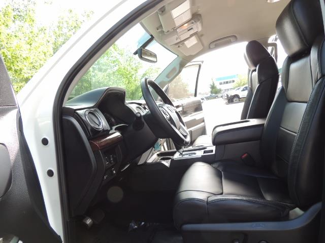 2015 Toyota Tundra Limited / TRD OFF RD / Leather / Navigation / LIFT - Photo 14 - Portland, OR 97217