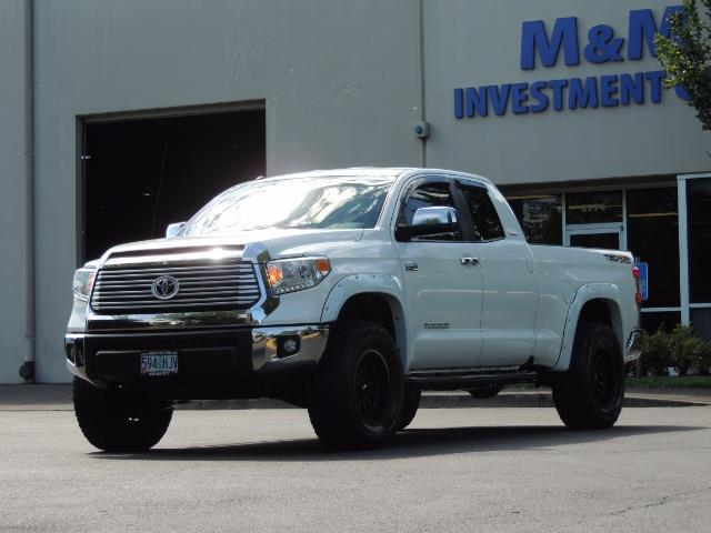 2015 Toyota Tundra Limited / TRD OFF RD / Leather / Navigation / LIFT - Photo 38 - Portland, OR 97217