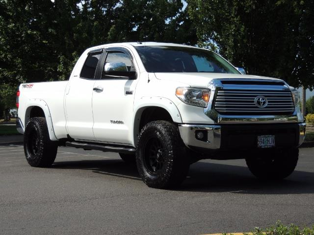 2015 Toyota Tundra Limited / TRD OFF RD / Leather / Navigation / LIFT - Photo 2 - Portland, OR 97217