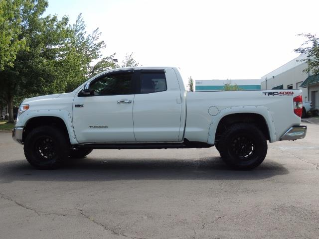 2015 Toyota Tundra Limited / TRD OFF RD / Leather / Navigation / LIFT - Photo 3 - Portland, OR 97217