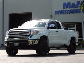 2015 Toyota Tundra Limited / TRD OFF RD / Leather / Navigation / LIFT Truck