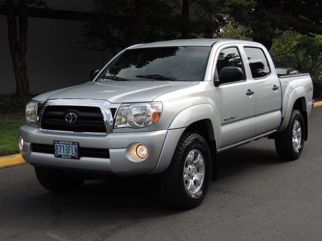 2007 toyota tacoma v6 sr5 double cab 4x4 trd off rd rear diff locks. Black Bedroom Furniture Sets. Home Design Ideas