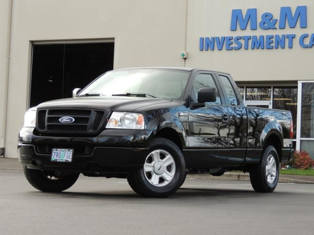 2005 ford f 150 stx super cab 4 door v8 4 6l low 60k miles. Black Bedroom Furniture Sets. Home Design Ideas