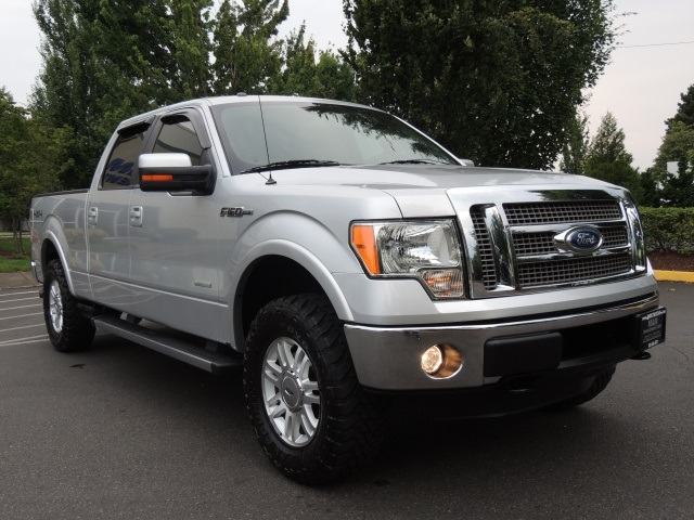 2012 ford f 150 lariat crew cab 4x4 leather 6cyl turbo. Black Bedroom Furniture Sets. Home Design Ideas