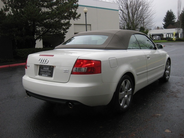 2004 audi a4 3 0 quattro awd convertible 1 owner 62k miles. Black Bedroom Furniture Sets. Home Design Ideas