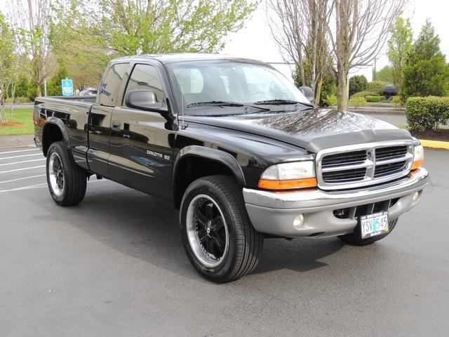 2001 dodge dakota slt 2dr 4wd 4 7l 8cyl excel cond. Black Bedroom Furniture Sets. Home Design Ideas