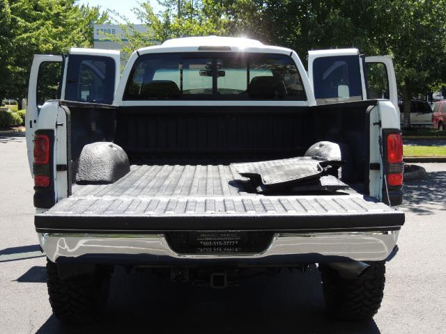 2001 Dodge Ram 2500 Laramie SLT Quad Cab / 4X4 /5.9L DIESEL / 6-SPEED - Photo 28 - Portland, OR 97217