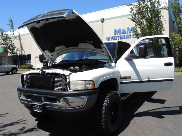 2001 Dodge Ram 2500 Laramie SLT Quad Cab / 4X4 /5.9L DIESEL / 6-SPEED - Photo 25 - Portland, OR 97217