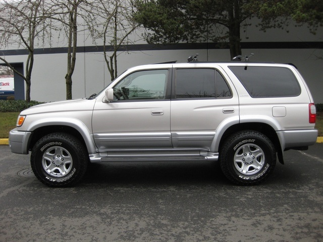 1999 Toyota 4runner Limited 4wd Differential Locks Leather Pristine