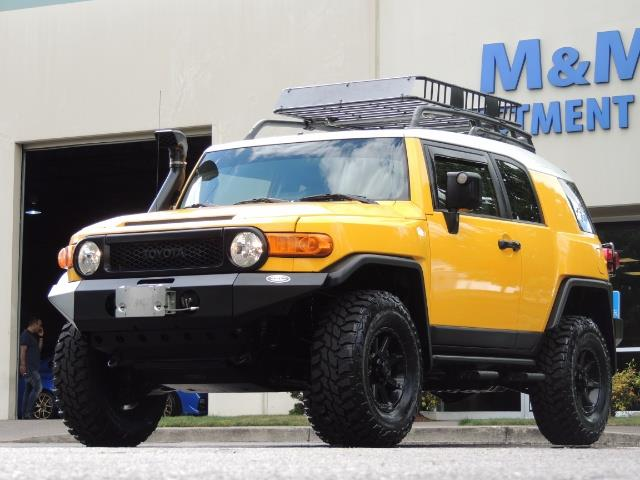 2007 Toyota FJ Cruiser 4x4 / Rear DIFF Lock / 80 K-miles / LIFTED - Photo 42 - Portland, OR 97217