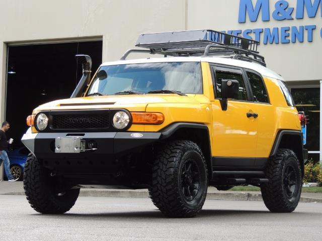 2007 Toyota FJ Cruiser 4x4 / Rear DIFF Lock / 80 K-miles / LIFTED - Photo 1 - Portland, OR 97217