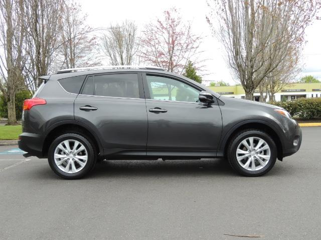 2014 Toyota RAV4 Limited / AWD / Navigation / Blind Spot Monitor - Photo 4 - Portland, OR 97217