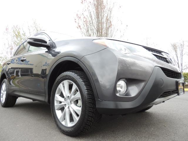 2014 Toyota RAV4 Limited / AWD / Navigation / Blind Spot Monitor - Photo 10 - Portland, OR 97217