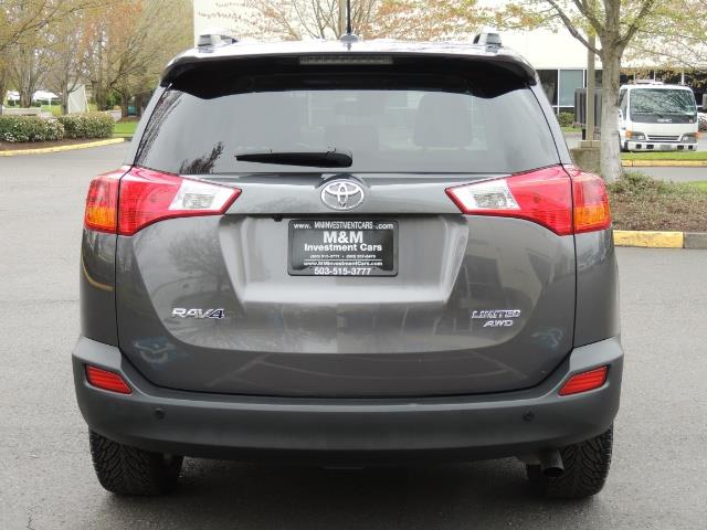 2014 Toyota RAV4 Limited / AWD / Navigation / Blind Spot Monitor - Photo 6 - Portland, OR 97217
