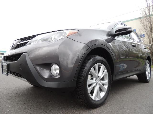 2014 Toyota RAV4 Limited / AWD / Navigation / Blind Spot Monitor - Photo 9 - Portland, OR 97217