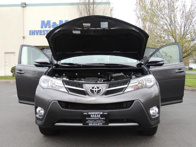 2014 Toyota RAV4 Limited / AWD / Navigation / Blind Spot Monitor - Photo 32 - Portland, OR 97217