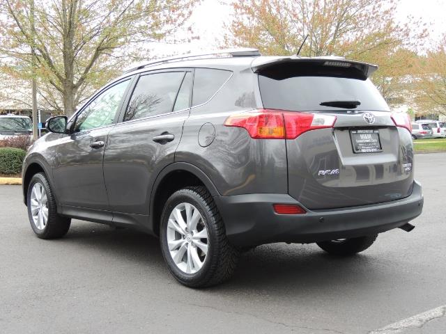 2014 Toyota RAV4 Limited / AWD / Navigation / Blind Spot Monitor - Photo 8 - Portland, OR 97217