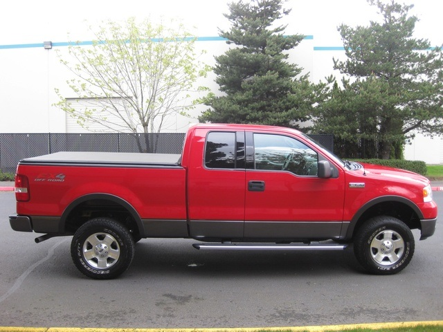 Used 2004 ford f 150 fx4 new body style 4x4 off road pkg for sale