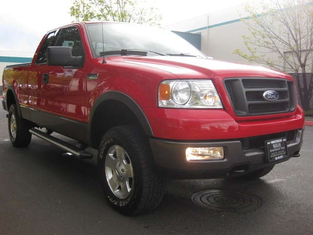 2004 ford f 150 fx4 new body style 4x4 off road pkg. Black Bedroom Furniture Sets. Home Design Ideas