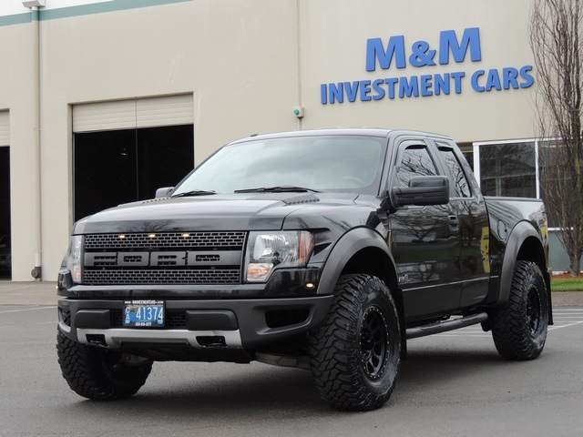 2012 ford f 150 svt raptor 4x4 navigation lifted 25k miles - 2012 Ford F 150 Svt Raptor