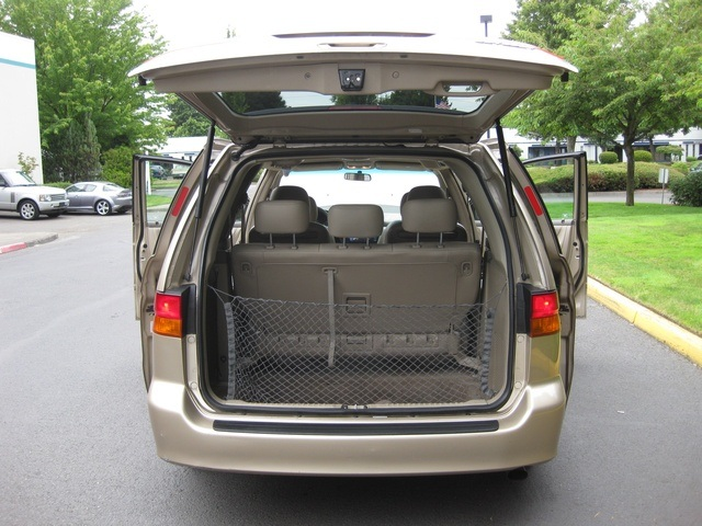2002 honda odyssey ex l minivan v6 bucket seats power doors 3rd seat. Black Bedroom Furniture Sets. Home Design Ideas