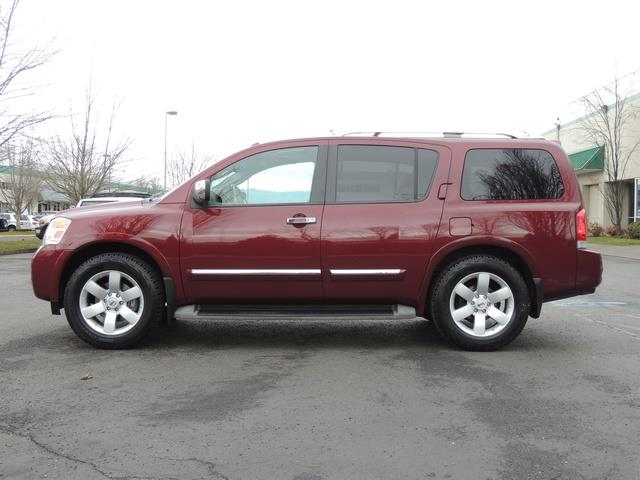 2011 Nissan Armada SL / Leather / Third seat / Bckup cam / 65K MILES - Photo 3 - Portland, OR 97217