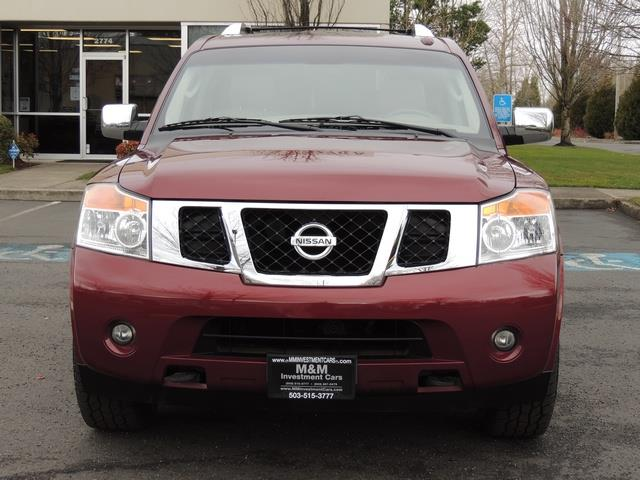 2011 Nissan Armada SL / Leather / Third seat / Bckup cam / 65K MILES - Photo 5 - Portland, OR 97217