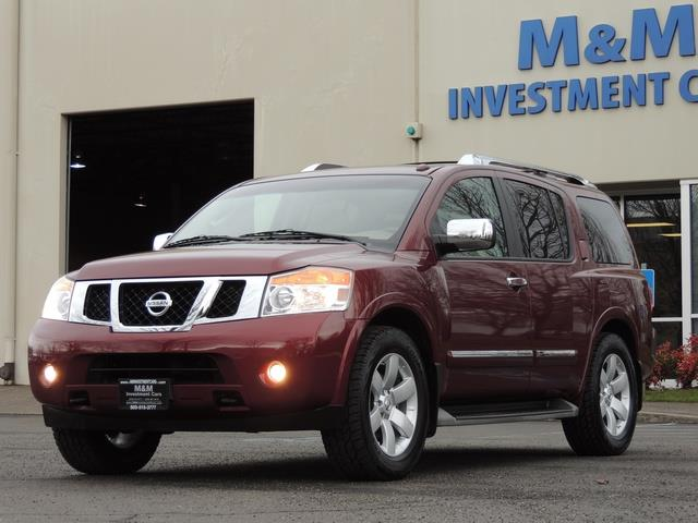 2011 Nissan Armada SL / Leather / Third seat / Bckup cam / 65K MILES - Photo 26 - Portland, OR 97217