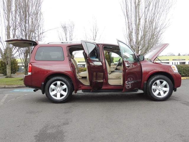 2011 Nissan Armada SL / Leather / Third seat / Bckup cam / 65K MILES - Photo 35 - Portland, OR 97217