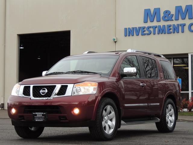 2011 Nissan Armada SL / Leather / Third seat / Bckup cam / 65K MILES - Photo 25 - Portland, OR 97217