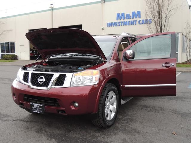 2011 Nissan Armada SL / Leather / Third seat / Bckup cam / 65K MILES - Photo 30 - Portland, OR 97217