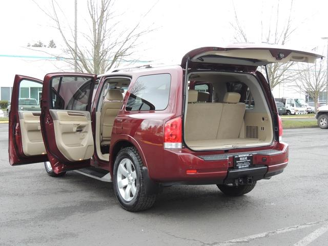 2011 Nissan Armada SL / Leather / Third seat / Bckup cam / 65K MILES - Photo 32 - Portland, OR 97217