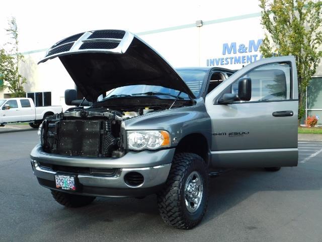 2005 Dodge Ram 2500 SLT 4dr / 4X4 / 5.9L DIESEL / 6-SPEED / JAKE BRAKE - Photo 25 - Portland, OR 97217