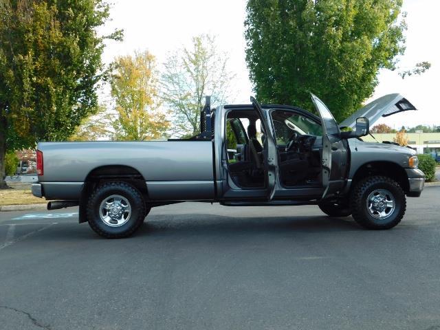 2005 Dodge Ram 2500 SLT 4dr / 4X4 / 5.9L DIESEL / 6-SPEED / JAKE BRAKE - Photo 29 - Portland, OR 97217