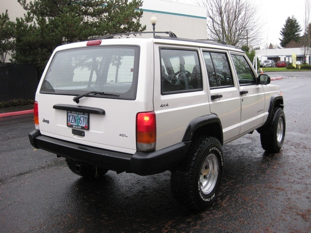Jeep Cherokee Classic Suv In Line Cylinder Clean Title