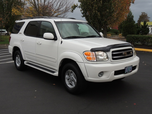 2002 toyota sequoia limited edition 3rd row seats 4wd dvd. Black Bedroom Furniture Sets. Home Design Ideas